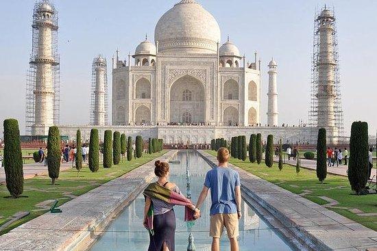 Dezelfde dag Taj Mahal tour met de ...