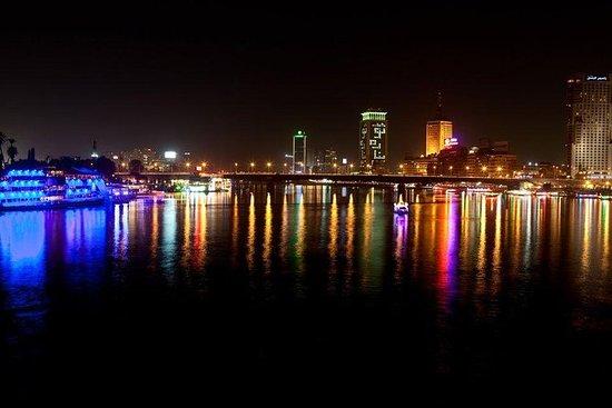 Cena crucero por el Nilo en El Cairo...