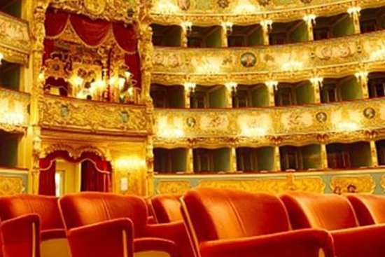 Fenice Theater Admission Ticket og...