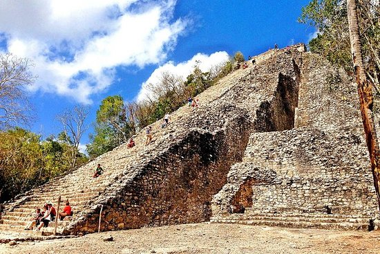 LDS Tour to Coba Ruins and Cenote