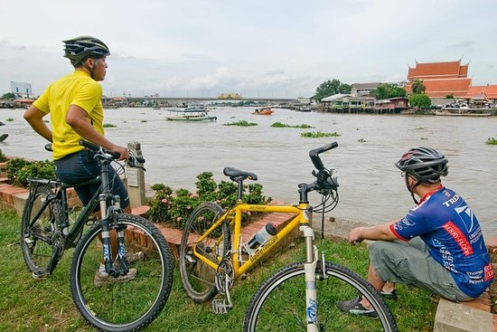 Koh Kret Island Bike Tour fra Bangkok...
