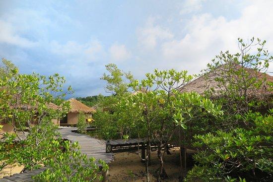 The Blue Sky Resort Koh Payam: ท่านสามารถเดินเล่นไปยังพื้นที่ด้านในสุดได้ครับ