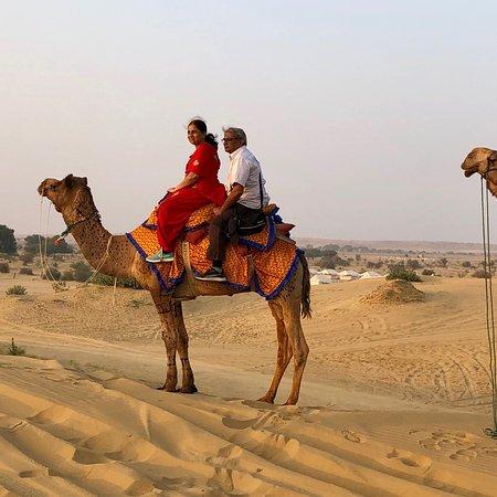Wonderful experience of Desert camping!