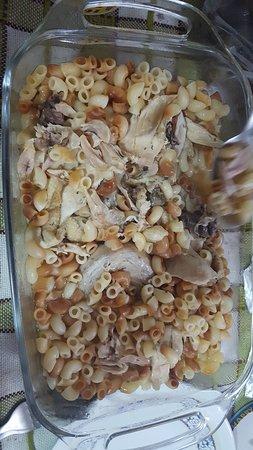 Chicken whith pasta