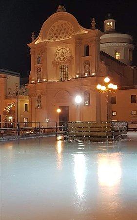 Meravigliosa L'Aquila con la neve L'Aquila bella me