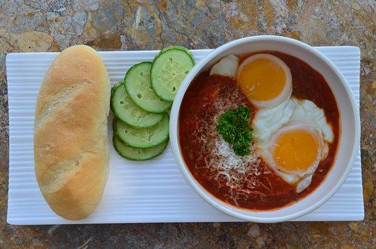Namunamu Coffee & Bakery: Namunamu's egg sunny side up