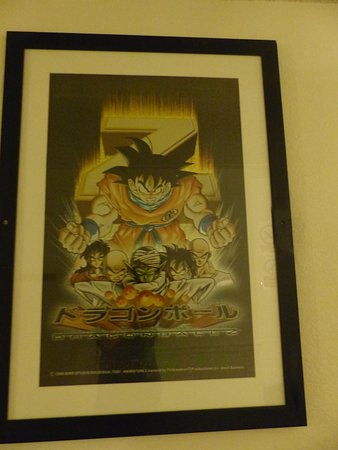 L'un des tableaux dans les couloirs de l'hôtel