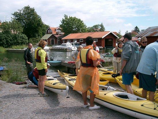 Moja Havskajaker: En grupp på väg ut för äventyr!