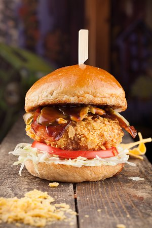 El Pollo Loco - a crazy good chicken fillet, coated in tortilla chips and deep fried to golden perfection.