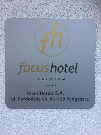 Hotel Focus Premium Inowrocław: Логотип