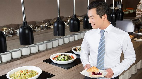 Fusong County, China: Restaurant