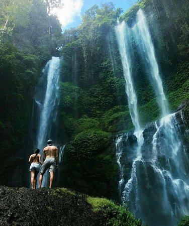 Big shower from Nature - Sekumpul Waterfall