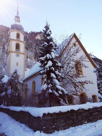 Kaunertal, Αυστρία: Kirche in Feichten