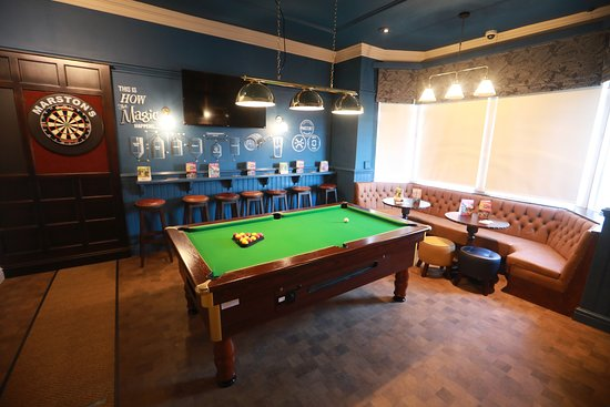 The Gardeners Arms: We've got plenty of space to enjoy a game of pool or darts with friends