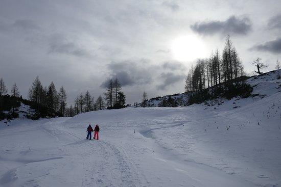 Schneeschuhwandern am Nassfeld