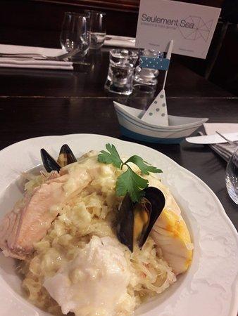 Seulement Sea: Choucroute de poissons