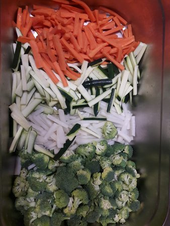 Seulement Sea: Wok de légumes