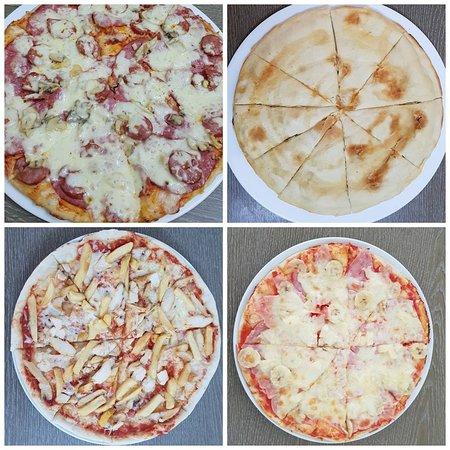 Peste 50 de tipuri de pizza!!! Apropo, stiai ca la 🍕 Poti alege dintre 3 tipuri de 🌾 blat? Tu cum il preferi? 😊 ✔normal ✔subtire ✔dublu