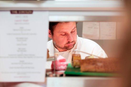 Head chef Gareth