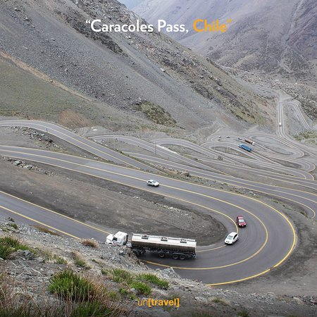 Chili : A series of hard switchbacks, steep inclines and sharp U-turns make up this pass as one of the most challenging roads in the word. #travel #adventure #wanderlust #vacation #travelgram #explore #holiday #travels #traveler #traveller #traveling #travelling #travelphotography #travelingram #traveladdict #exploretocreate #passionpassport #tourism #mytravelgram #untravel #ownyourtrip #deadlyroads Less