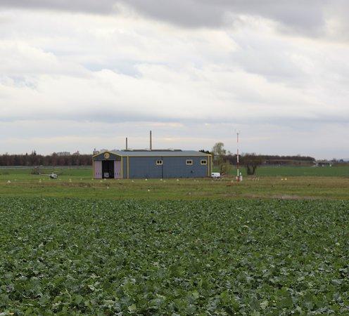 Le hangar de Procoptère à Chamforgeuil