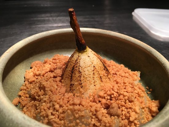 Pear&cider crumble