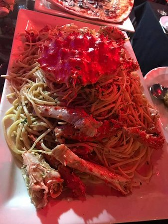 The Longtail Boat Restaurant: Tagliolini al King Crab