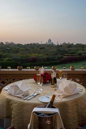 Private Dinner Setup in balcony