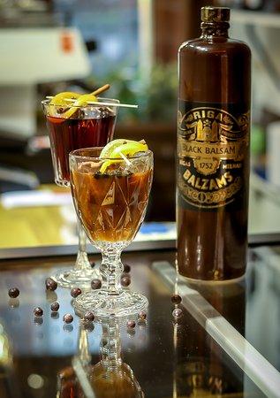 Hot Balsam drinks.