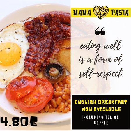 MamaPasta : Breakfast special offer