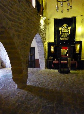 Sinagoga del Aqua, sevärdhet