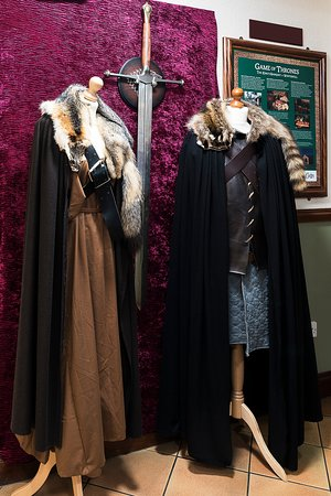 Ned Stark and Catelyn Stark costumes from Season 1 Game of Thrones