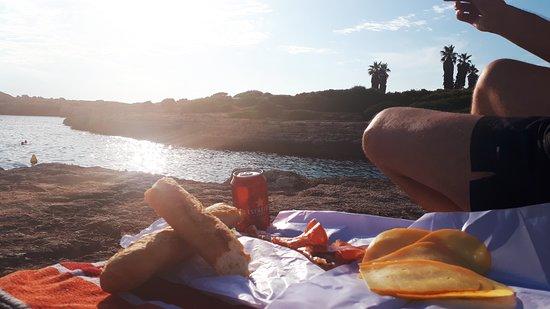 Playa Sa Caleta d'en Gorries: aperitivo