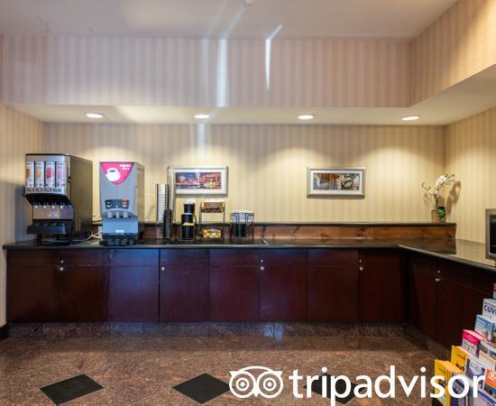 Lobby at the Best Western Plus Boston Hotel
