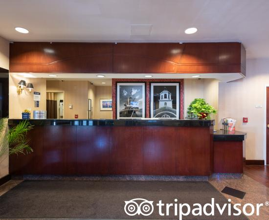 Front Desk at the Best Western Plus Boston Hotel