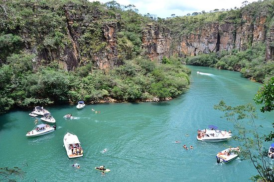 Cachoeira de Minas: Mirante dos Canyons panorâmica
