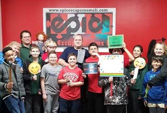 Epic Escape Rooms LI: Two successful group escapes!!