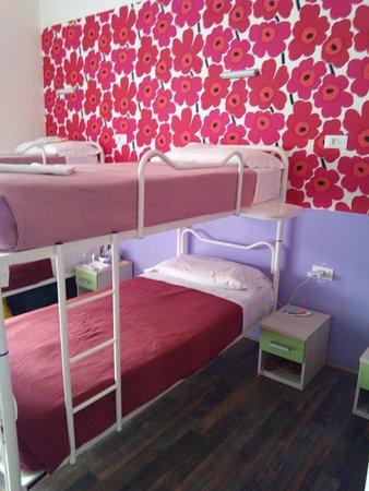 Hostel Gallo d'Oro: Pulizia quotidiana, ti rifanno anche il letto...