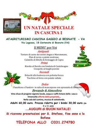 Besnate, Italie: Un Natale speciale.