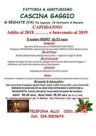 Besnate, Italie: Un Capodanno che non hai fatto !