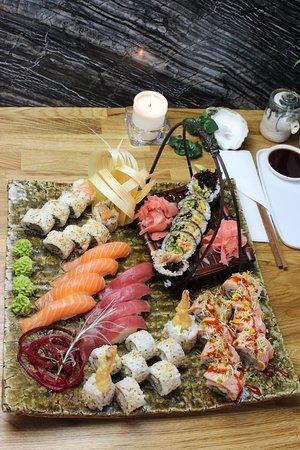 Art Sushi: Nice set