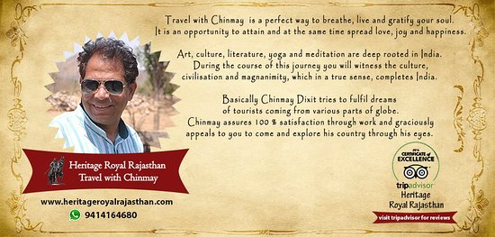 Heritage Royal Rajasthan Travel with Chinmay