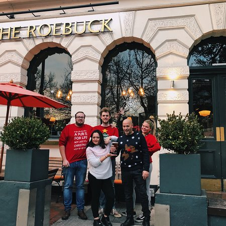 Хэмпстед-Хит: Holiday loving ❤️ here at The Roebuck Hampstead