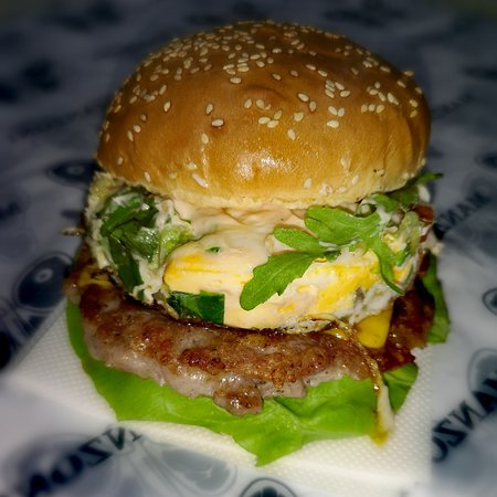 Burgers by Manzoni: Manzoni burger