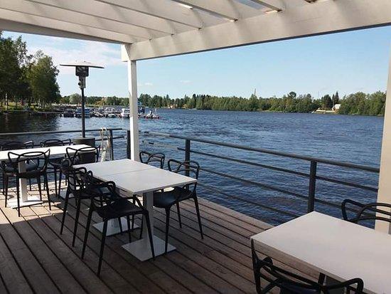 Koivurannan Saunalautta: front of the boat