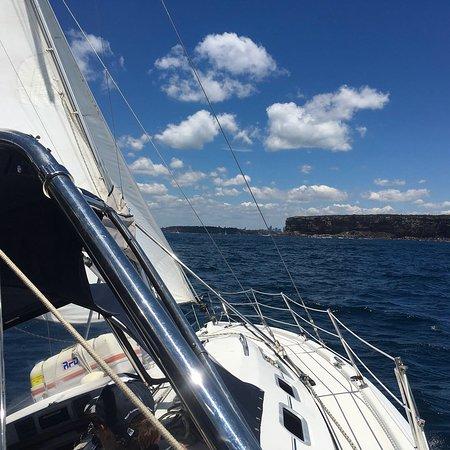 Sailing aboard the Sha Meduza