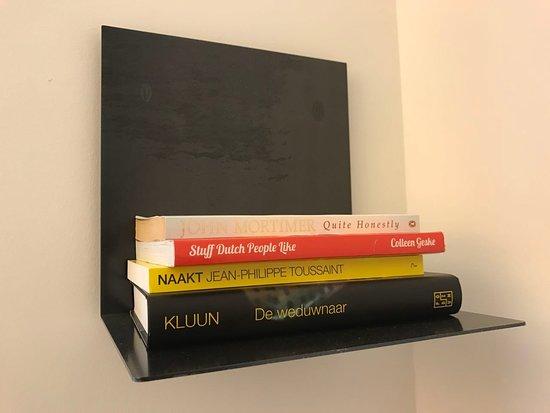 Bookshelf in the room