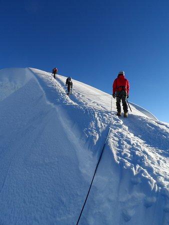 Climbing Pisco Mountain