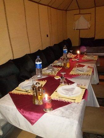 Restaurant Magic Luxury Camp