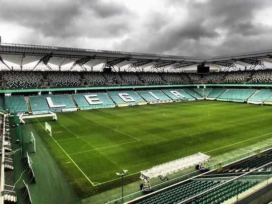 Legia Warsaw Municipal Stadium of Marshal Jozef Pilsudski